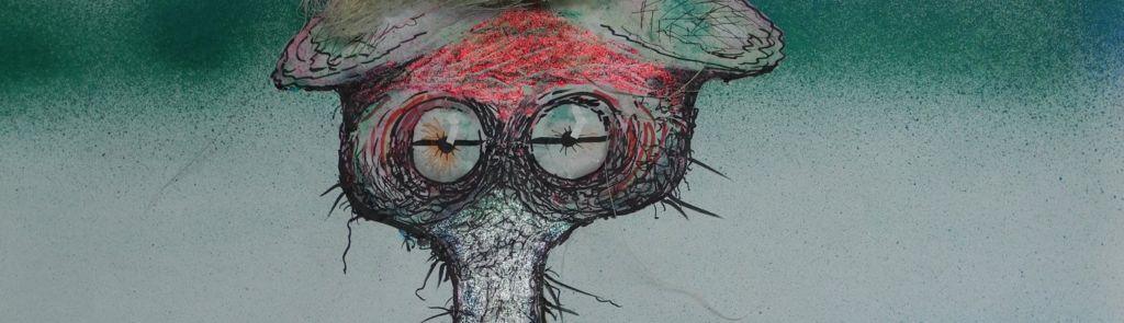 Foto Phantasiefigur Alien hier um Entwicklung zu erzeugen.